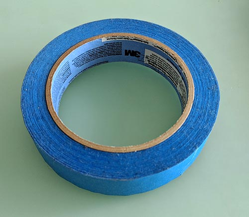 A photo of 3M Safe-Release Painter's Tape.
