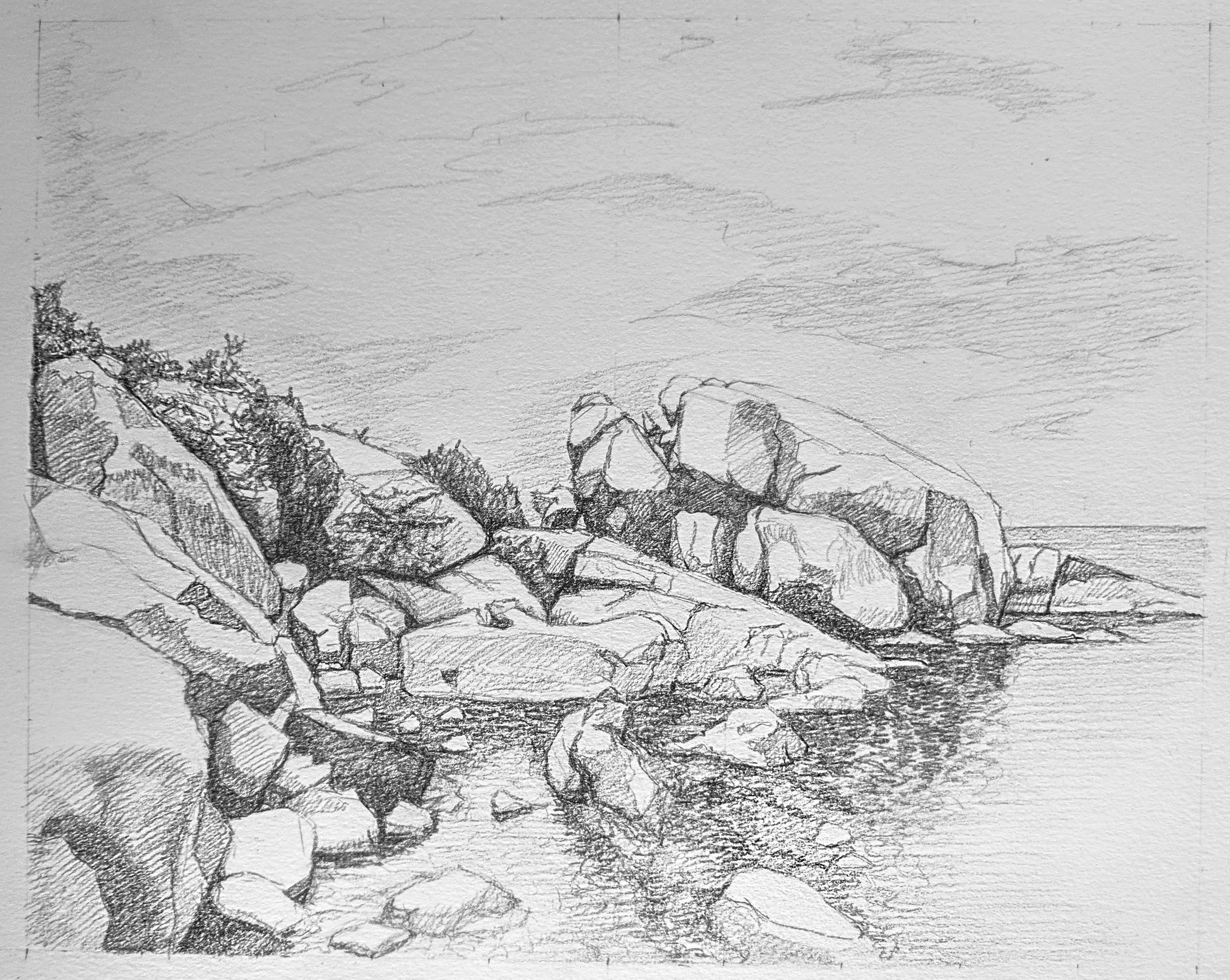 A picture of the final drawing.
